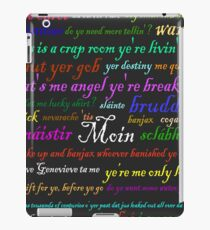 The Premonition Series - Da Fellas Quotes iPad Case/Skin
