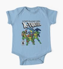 X-Turtles, Mutants in a half shell (Colab with RPAdame) Kids Clothes