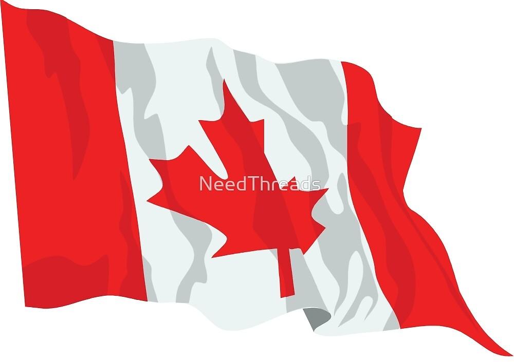 Canada Flag by NeedThreads