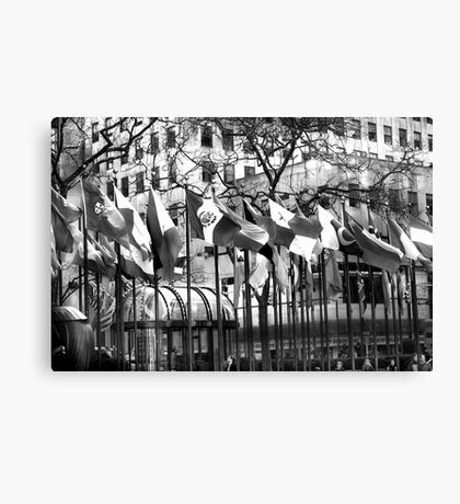 My Trust is Blowin in The Wind Canvas Print