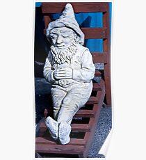 Dwarf Sunbathing Poster