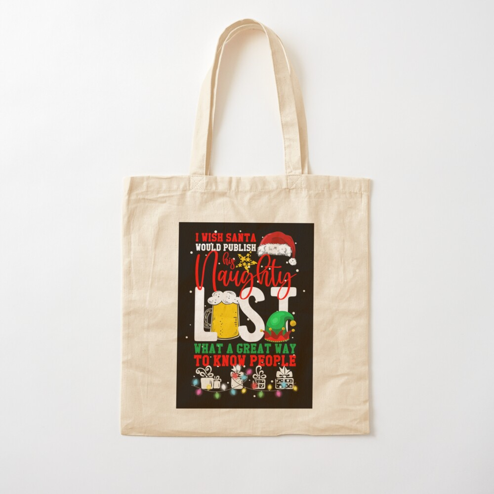 To Do List Bag Quote Tote