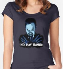 NO HAY BANDA - Mulholland Drive Women's Fitted Scoop T-Shirt