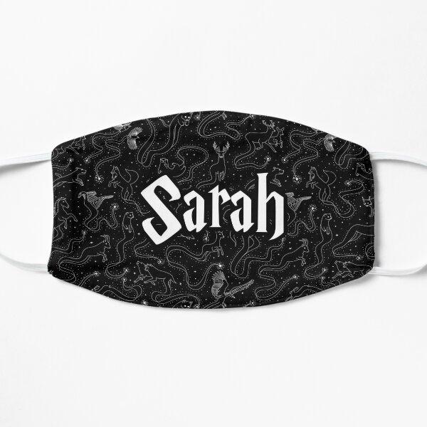 Sarah - Animals Patronum black pattern Mask