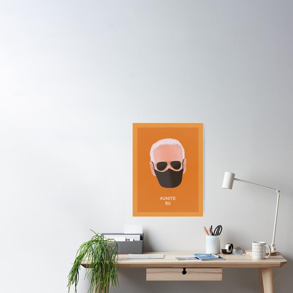 Joe Biden UNITE (orange) Poster