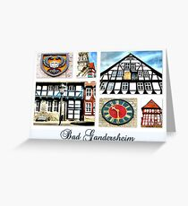 Bad Gandersheim Greeting Card
