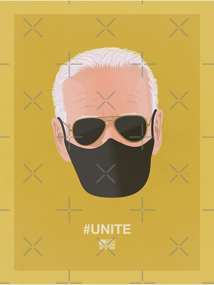 Joe Biden UNITE (yellow) by PopArtClub