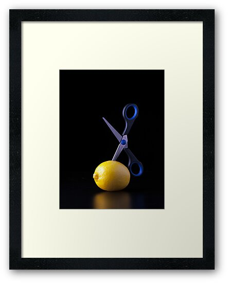 I Hate Fruit - Lemon by Alan Organ LRPS
