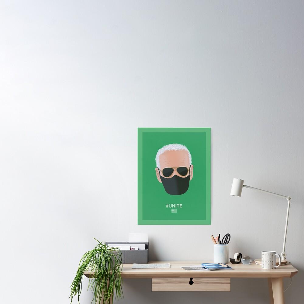 Joe Biden UNITE (green) Poster