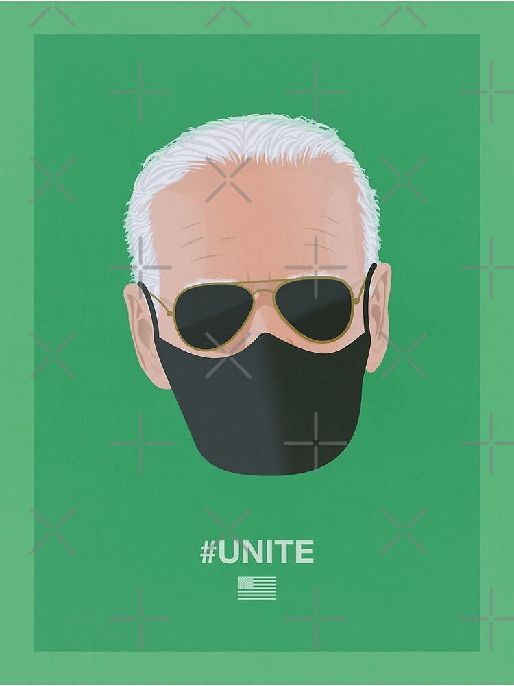 Joe Biden UNITE (green) by PopArtClub