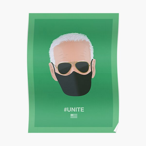 Joe Biden UNITE (green) Poster