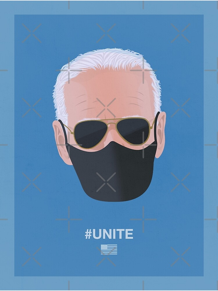 Joe Biden UNITE (blue) by PopArtClub