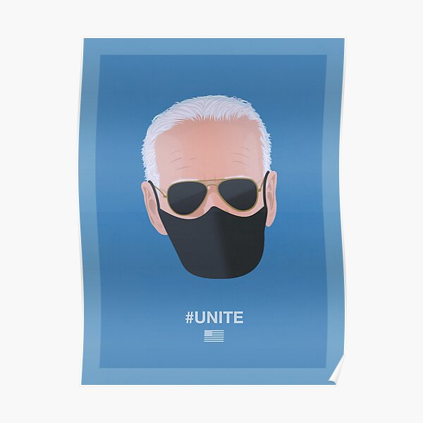 Joe Biden UNITE (blue) Poster