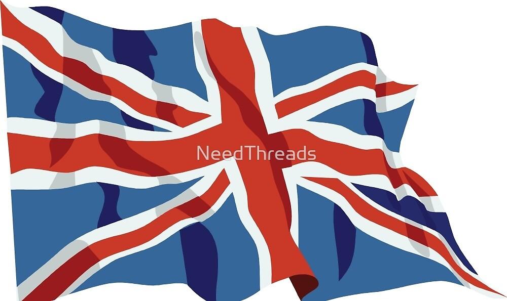 United Kingdom Flag by NeedThreads