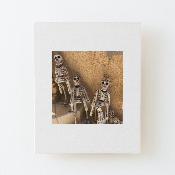 Todos Santos Skeletons Wood Mounted Print
