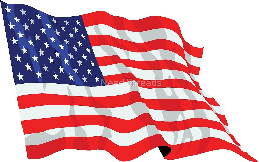 United States Flag by NeedThreads
