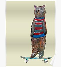 the cat skate  Poster
