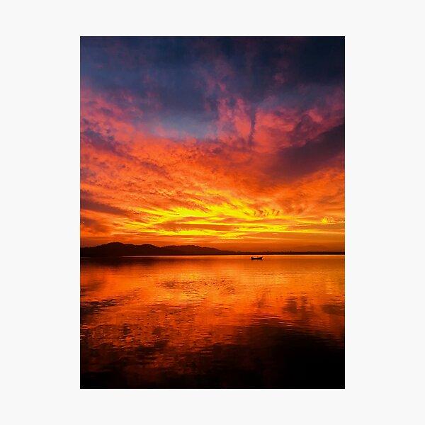Barra de Navidad Sunrise Photographic Print