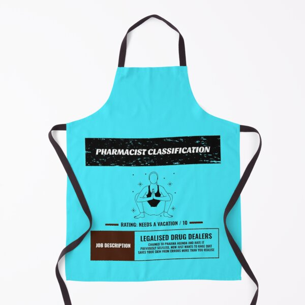 Pharmacist Classification Apron