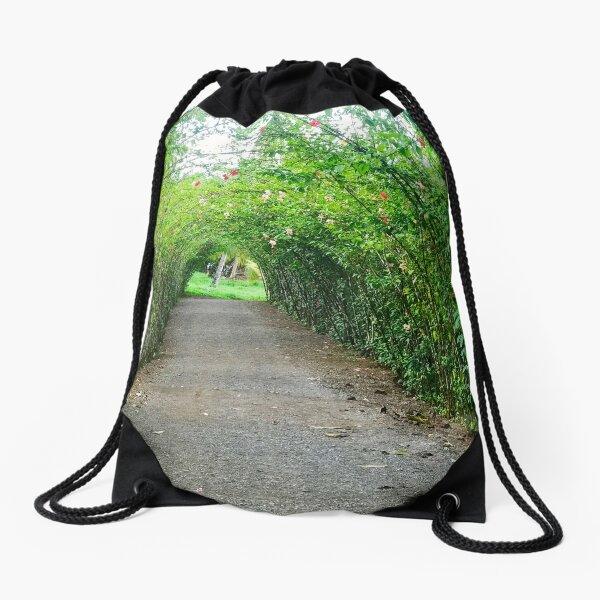 Secret Garden Drawstring Bag