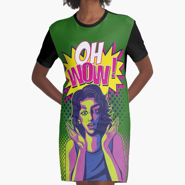 Oh wow T-Shirt Kleid