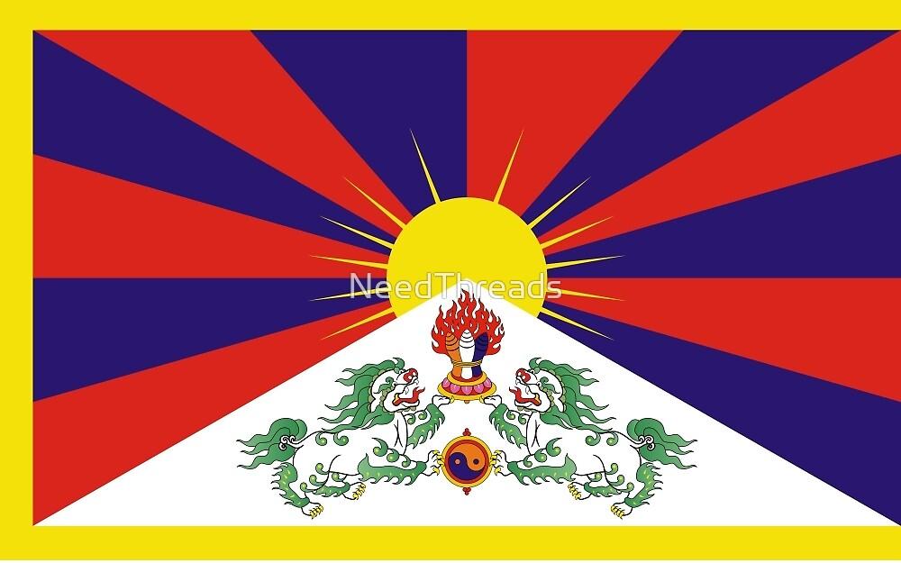 Tibet Flag by NeedThreads