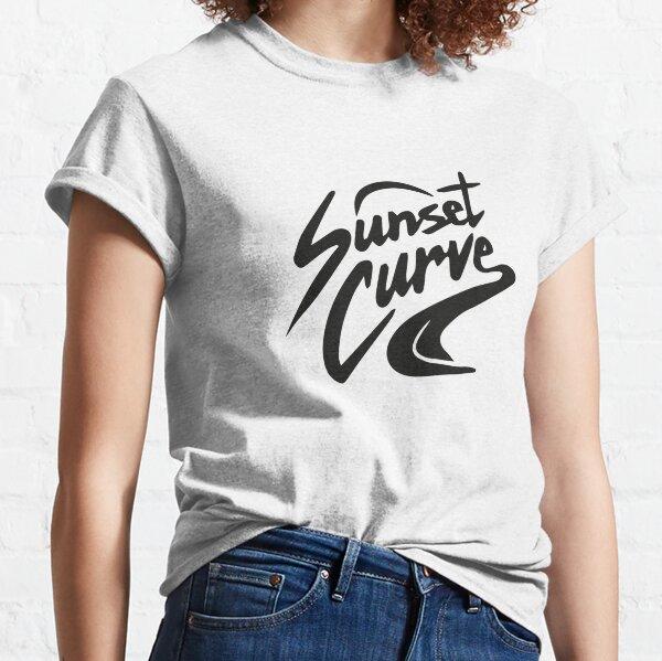 Sunset Curve logo Camiseta clásica