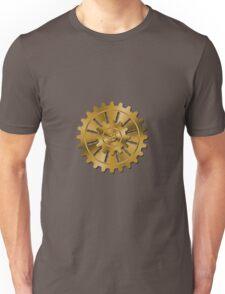 Golden Gears - Steampunk Unisex T-Shirt