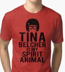 Tina Spirit Animal Tri-blend T-Shirt