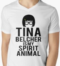Tina Spirit Animal Men's V-Neck T-Shirt