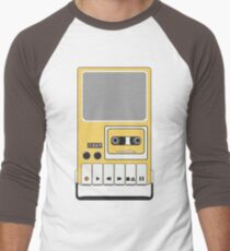 Portable Cassette Tape Recorder Men's Baseball ¾ T-Shirt