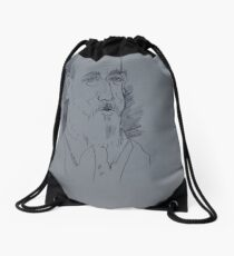 Alexander Drawing Drawstring Bag