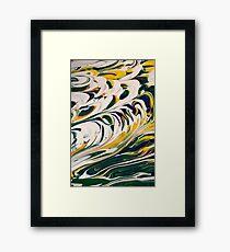 Tidal Surf Framed Print
