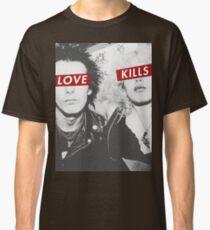 Love Kills - Sid & Nancy Classic T-Shirt