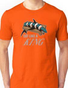 Eat Like a King (Dark) Unisex T-Shirt