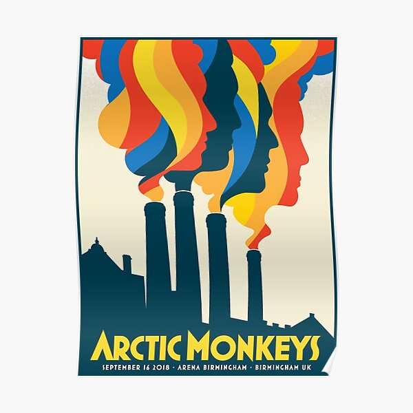 Smoke Monkeys factory Poster