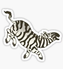 Burchell's Zebra Sticker