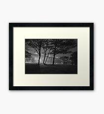Eerie Cityscape Framed Print