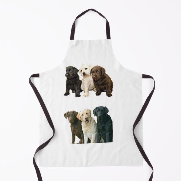 Funny Labrador Retriever dog Apron