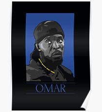 Omar The Wire Poster 1200