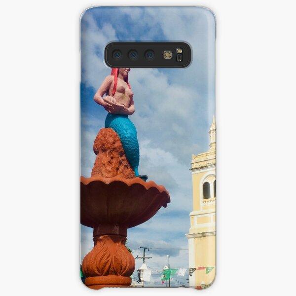 Mermaid Town Square Samsung Galaxy Snap Case