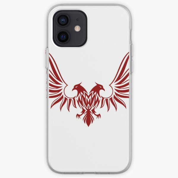 Red double-headed eagle iPhone Soft Case
