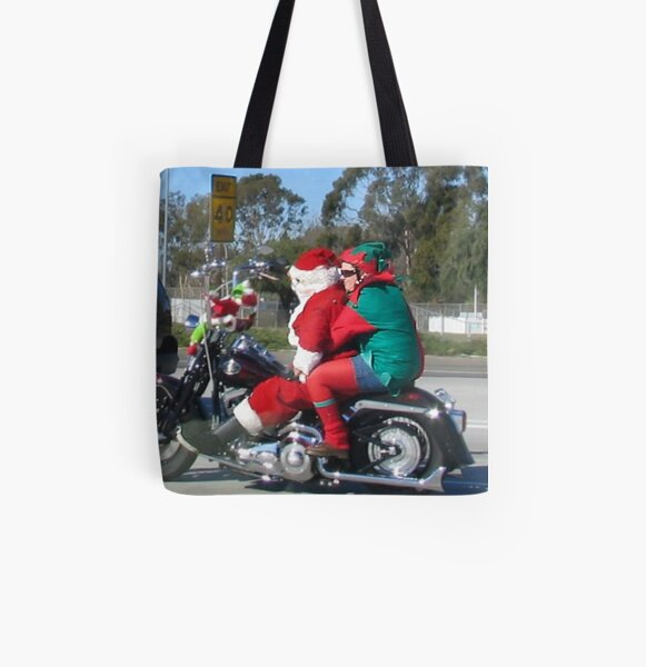 """"""" Late For Work """" All Over Print Tote Bag"""