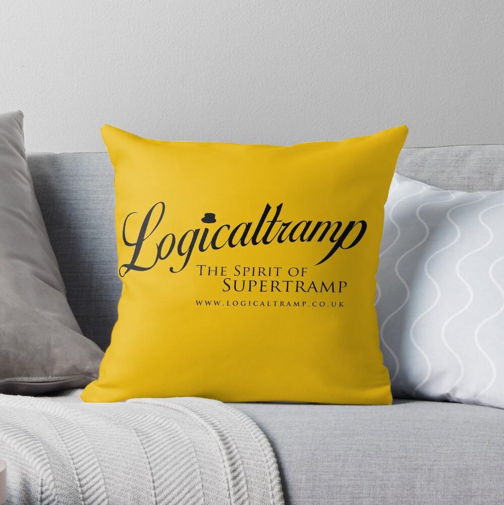 Logo Logicaltramp 2014 Throw Pillow