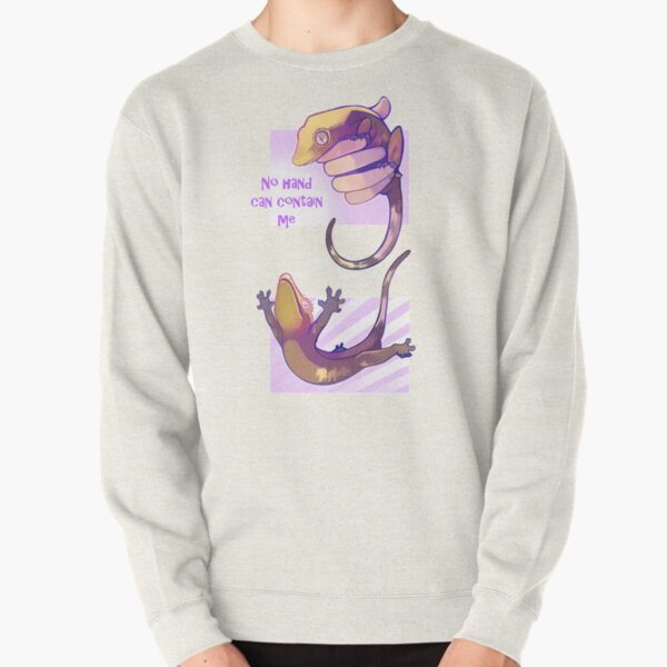 No hand can contain me Pullover Sweatshirt