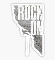 Rock On - Climbing Sticker