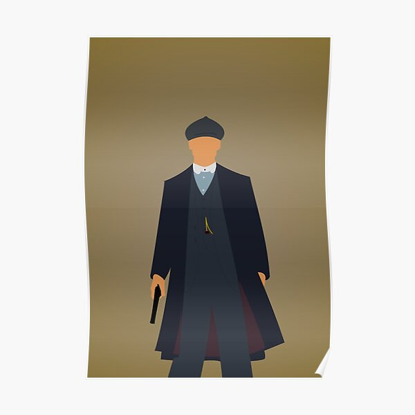 Tommy Shelby - Peaky Blinders Póster