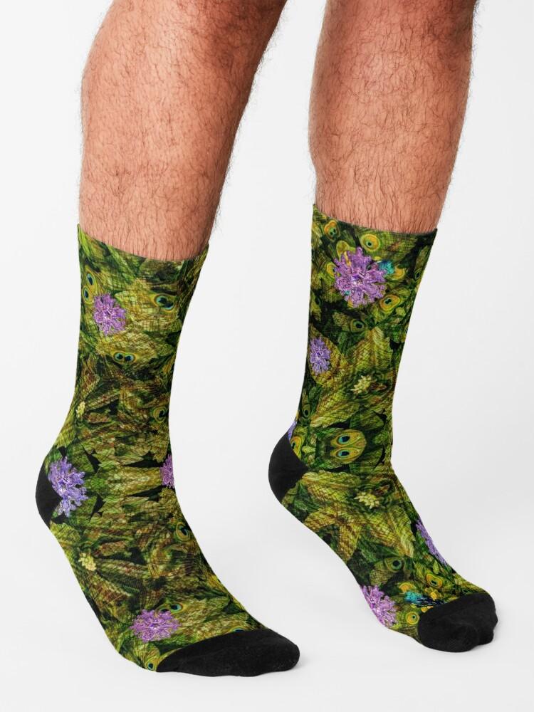 """Alternate view of """"Golden Age"""" Socks"""