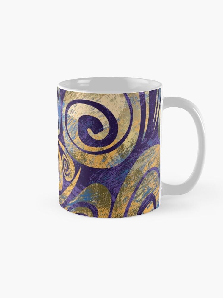 Alternate view of Swirls Mug