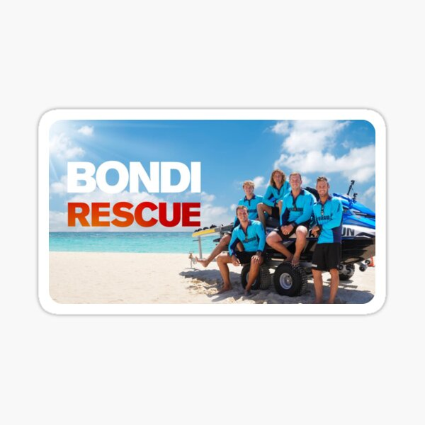 Bondi Beach Rescue Series Sticker